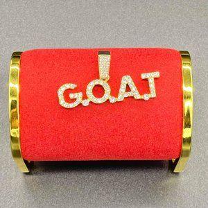 Iced G.O.A.T Pendant High-Quality
